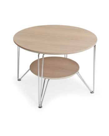 Circle sofabord 80 cm