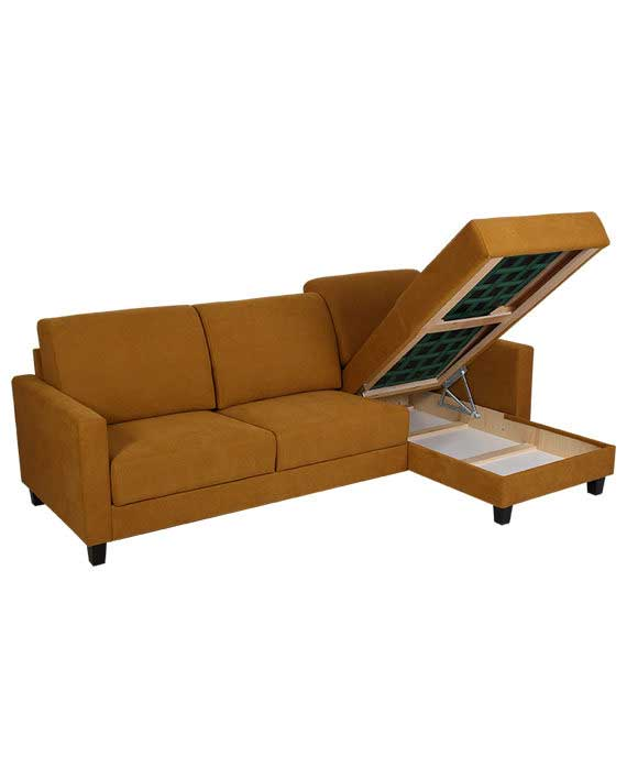Mirtel 3-seter Sovesofa Long Seat