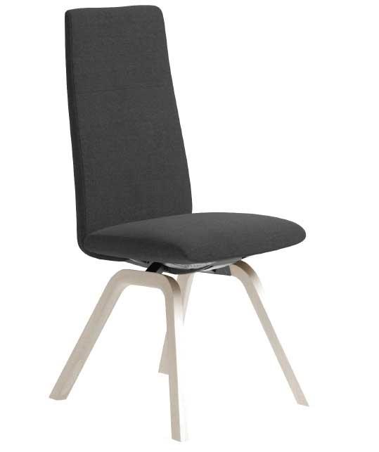 Chilli stol Høy D200 Hvitlassert Eik